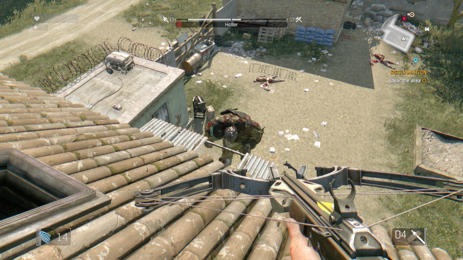 how to get the freezing grenade in dying light