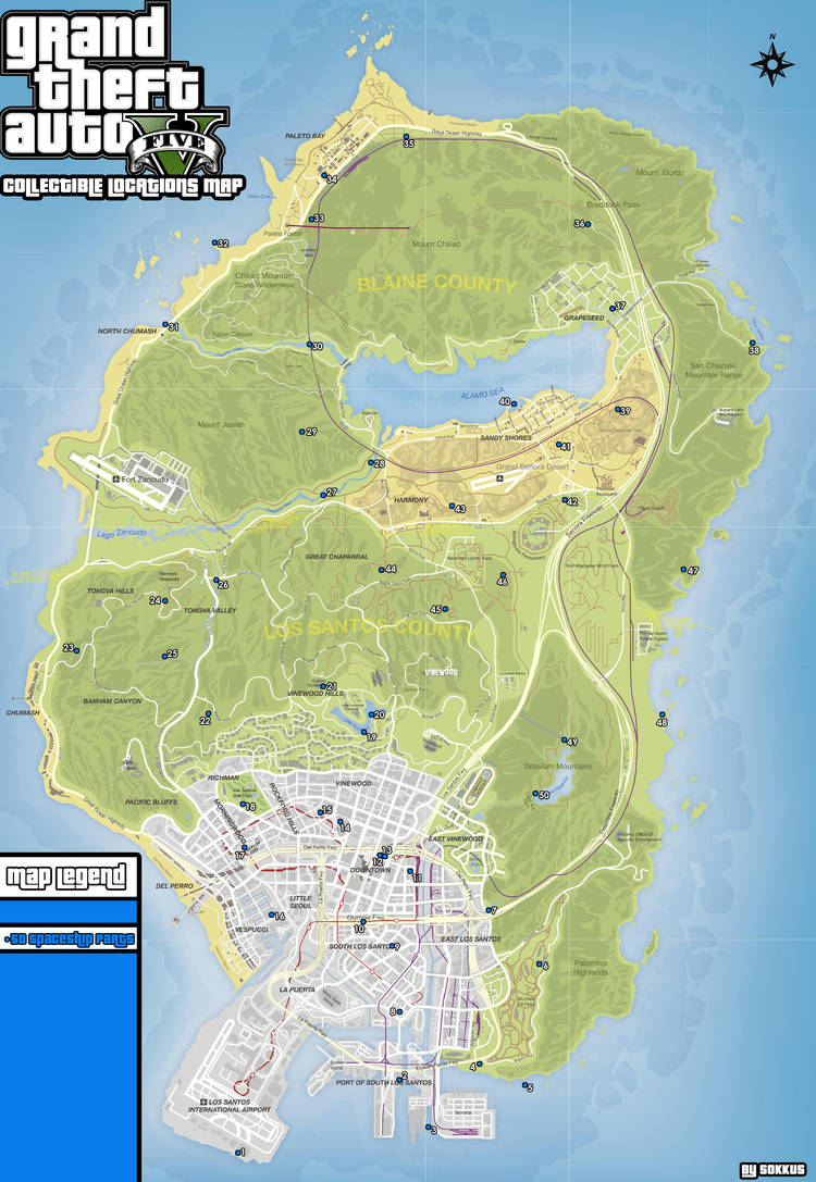 collectible locations guide grand theft auto v