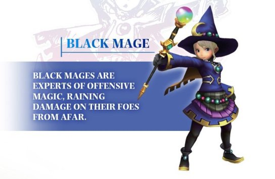 Black Mage Final Fantasy Explorers Walkthrough Neoseeker