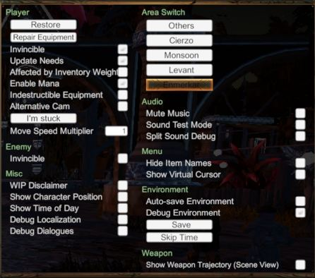 Debug Menu, Console Commands, Fast Travel, and Cheats - Outward
