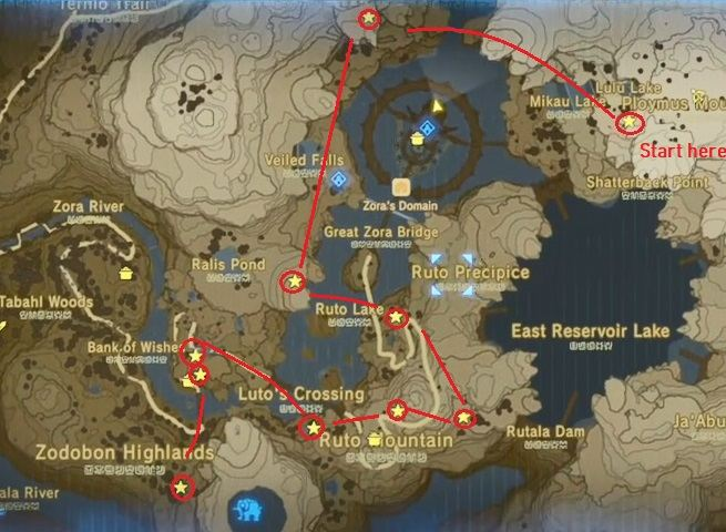 Lanayru Sidequests The Legend Of Zelda Breath Of The Wild