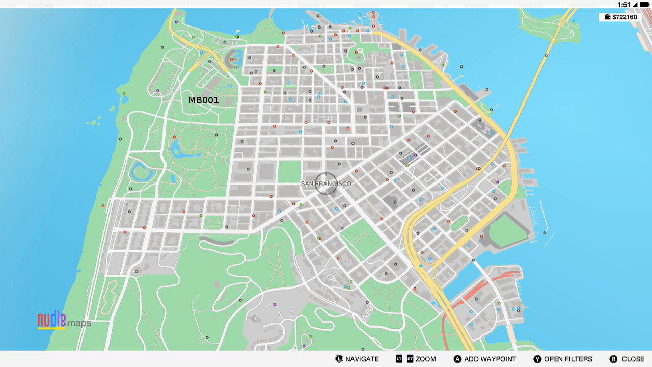Watch Dogs  Side Missions Map