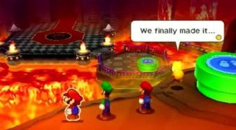 Chapter 10 Bowser S Castle Mario Luigi Paper Jam