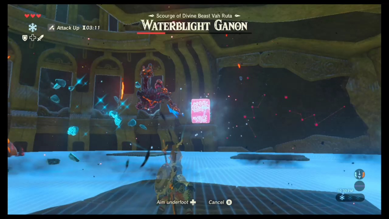 how to get back on divine beast vah ruta