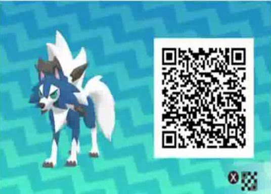 qr scan codes for pokemon ultra sun