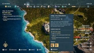 Walkthrough Judge Jury Executioner Assassin S Creed Odyssey Neoseeker