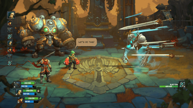 Dungeon: The Iron Outpost - Battle Chasers: Nightwar