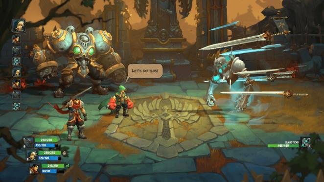 Dungeon: The Iron Outpost - Battle Chasers: Nightwar Walkthrough