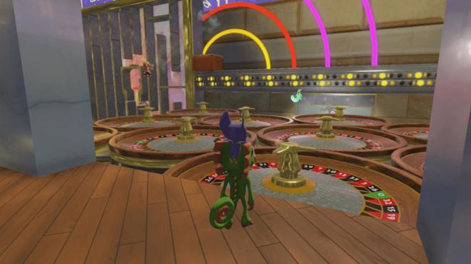 yooka laylee casino laser room