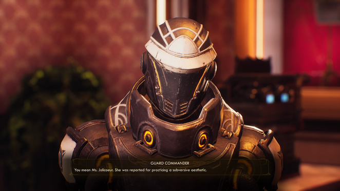 The Outer Worlds - Makes Space Suits, Won't Travel ...
