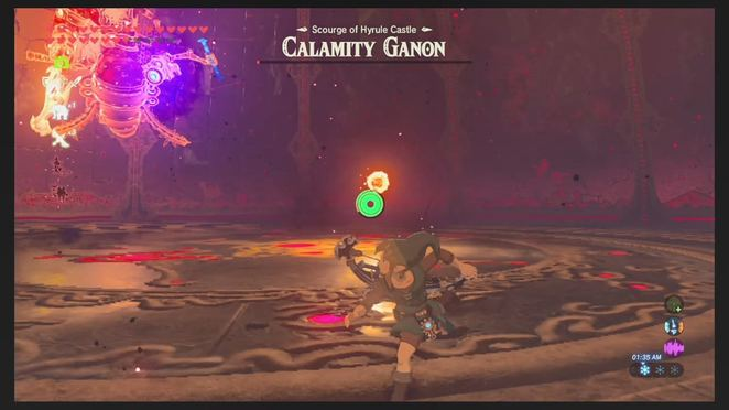 Destroy Ganon The Legend Of Zelda Breath Of The Wild