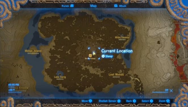 Woodland Shrines and Shrine Quests The Legend of Zelda Breath of