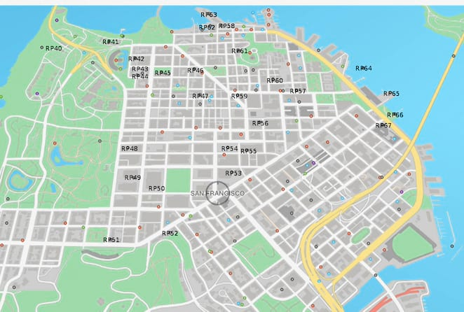 RP Collection Locations Guide P2 - Watch Dogs 2