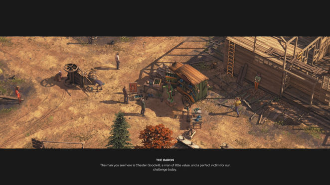 Desperados Iii Baron Challenge Vanishing Act Walkthrough Neoseeker