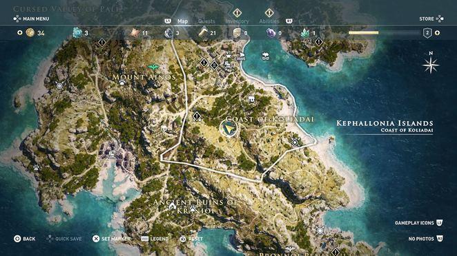 Ainigmata Ostraka: Kephallonia Islands - Assassin's Creed