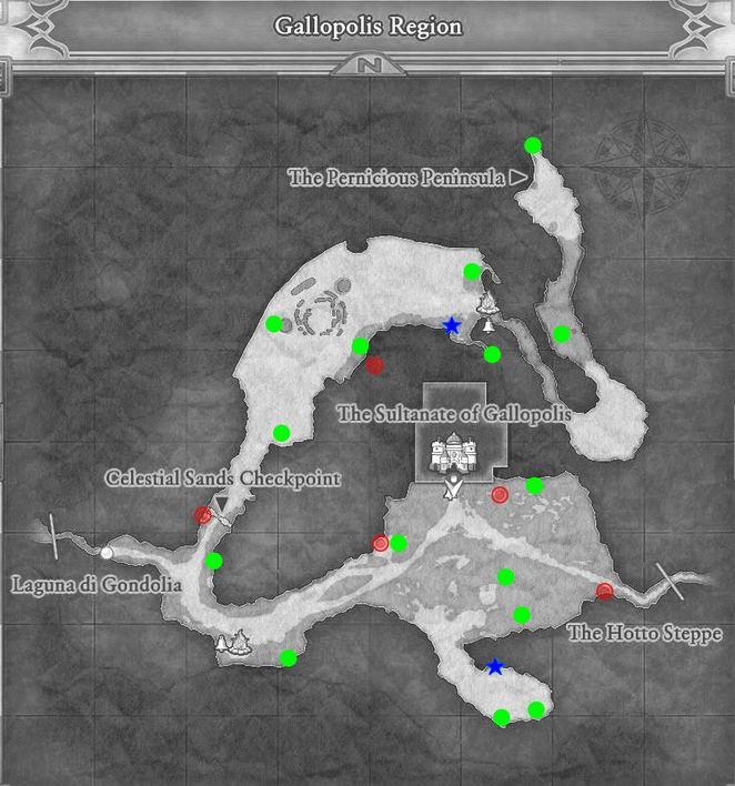 Gallopolis - Dragon Quest XI: Echoes of an Elusive Age Walkthrough