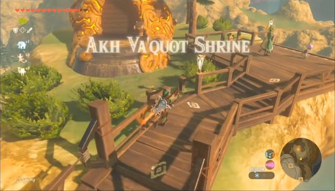 Tabantha Shrines And Shrine Quests The Legend Of Zelda Breath Of The Wild Neoseeker The monk akh va'quot is in the akh va'quot shrine. tabantha shrines and shrine quests