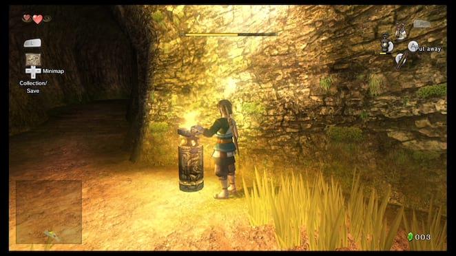 Items Screen - The Legend of Zelda: Twilight Princess HD Walkthrough