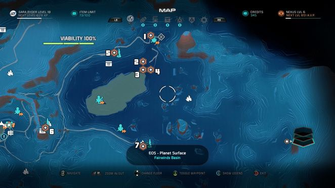 Mass Effect Andromeda Star Map.Naming The Dead Mass Effect Andromeda Walkthrough Neoseeker