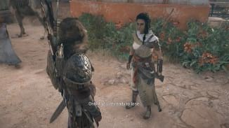 Walkthrough The Lizard S Face Assassin S Creed Origins Neoseeker
