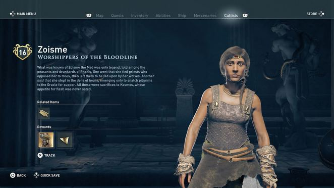 Branch Worshippers Of The Bloodline Assassin S Creed Odyssey