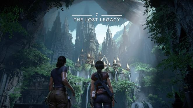 how many chapters are there in uncharted the lost legacy