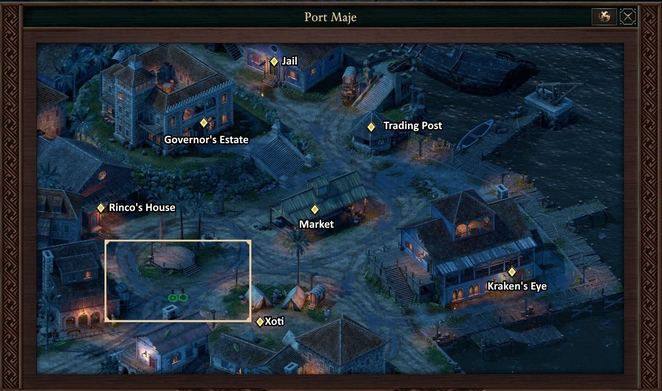 Port Maje: Companions, Quests, and Crew Members - Pillars of