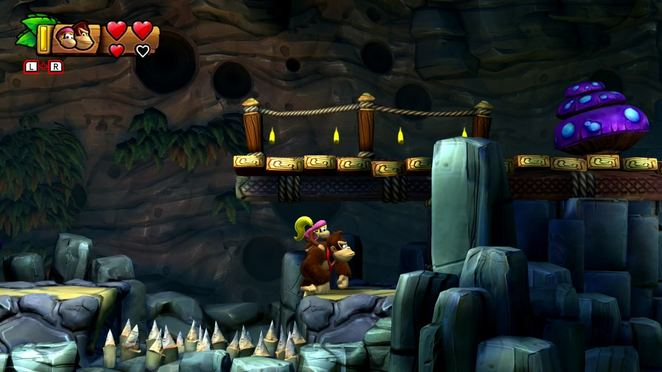 2-B Rodent Ruckus - Donkey Kong Country: Tropical Freeze Walkthrough
