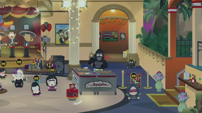 The Scavenger Hunt - Dining Room - South Park: From Dusk