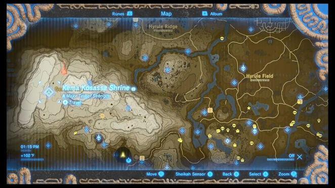 Image Result For Loz Botw Map