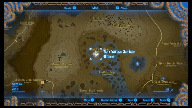 Ridgeland Shrines And Shrine Quests The Legend Of Zelda Breath Of The Wild Neoseeker