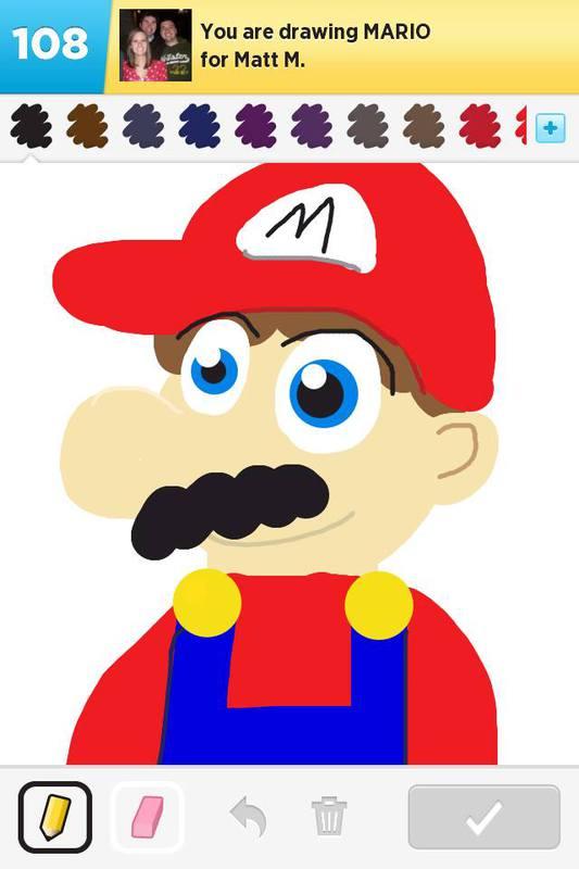 It's a me! Mario!