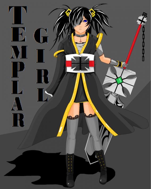 Dark Templar Girl