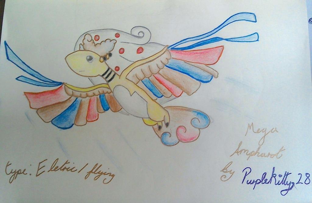 Mega Ampharot - Pokemon Fusion
