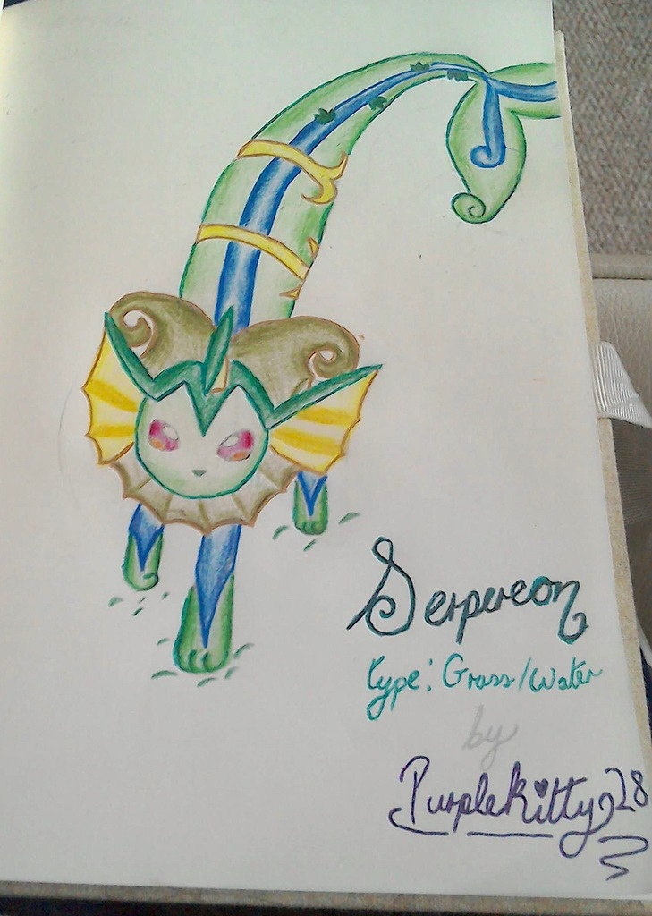Serpereon - Pokemon Fusion