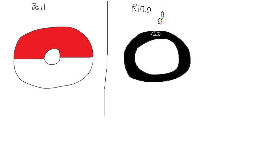 PokeBall and Mega Ring