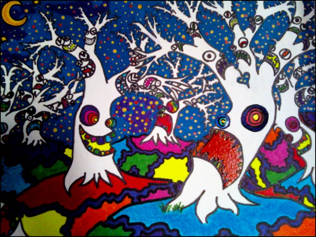 """""""Wonderland Forest"""" by Jesivis"""