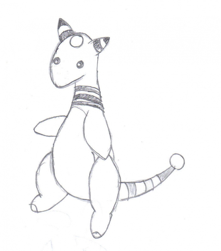 ampharos coloring pages - photo#16