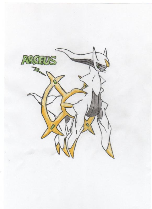 Arceus Sketch