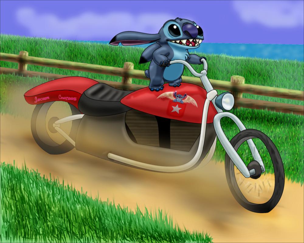 Biker Stitch