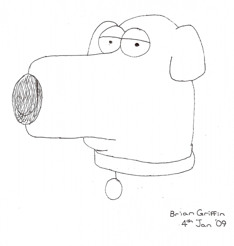 Brian Griffin « Family Guy Fanart