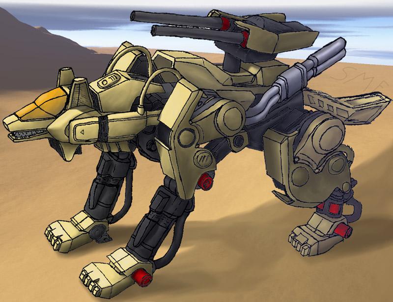 desert command wolf