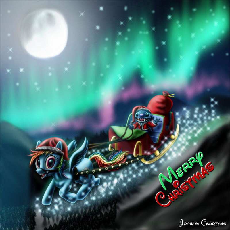 """Christmas Stitch And Dash."" by Stitch"