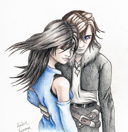 Squall and Rinoa