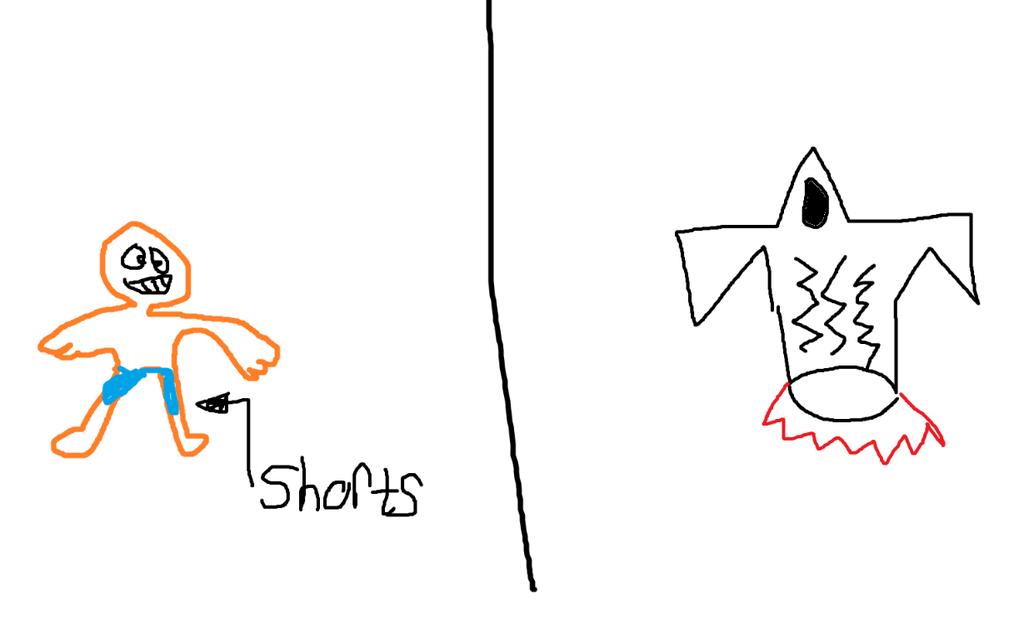 Crash Bandicoot and a Galatica Spaceship