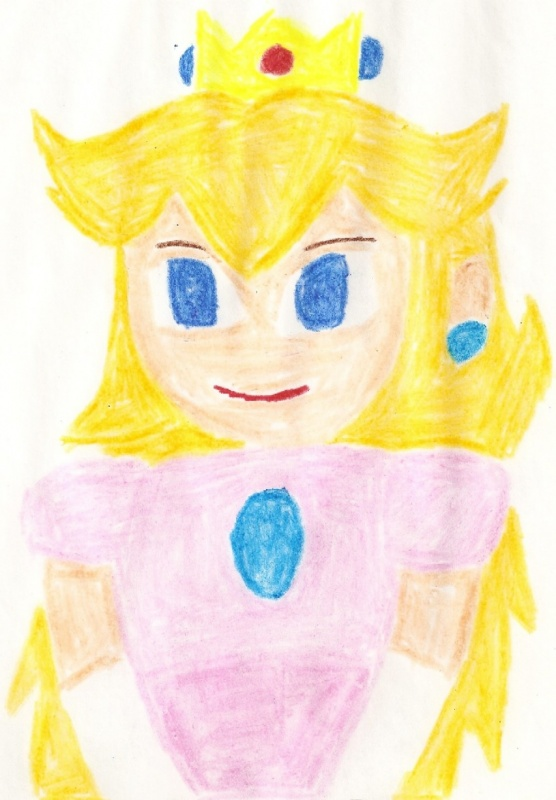 A Portrait of Peach