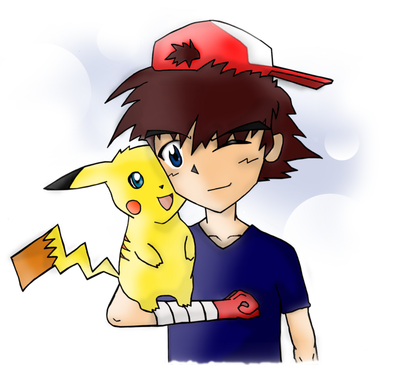 Pikachu & Ash