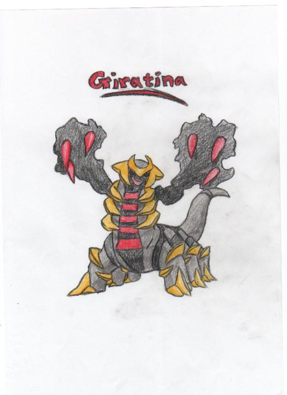 Giratina Sketch