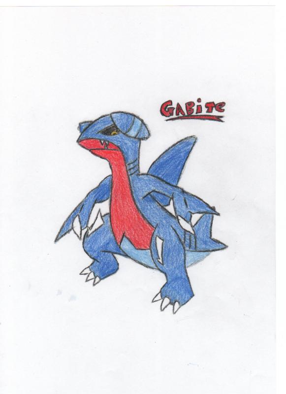 Gabite Sketch
