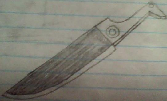Pyramid Head's Great Knife